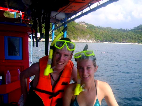 Snorkelling in the paradise of Koh Tao, Thailand