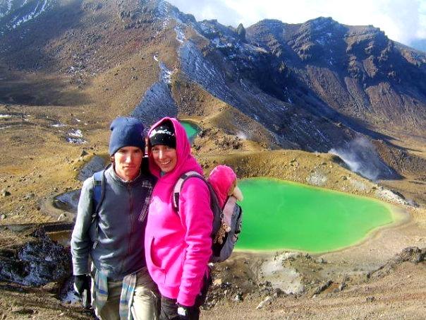 Hiking the Tongariro Crossing, New Zealand