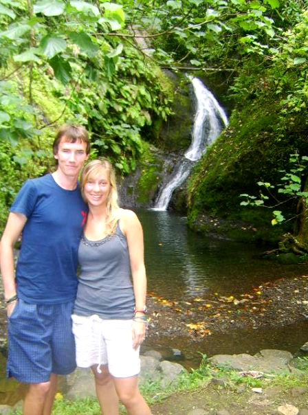 Finding a secluded waterfall in Raratonga, the Cook Islands