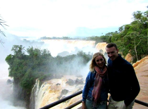 At Iguassu Falls in Argentina
