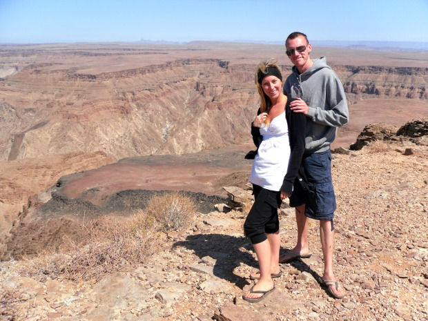 Fish River Canyon, Namibia - the second largest canyon in the world