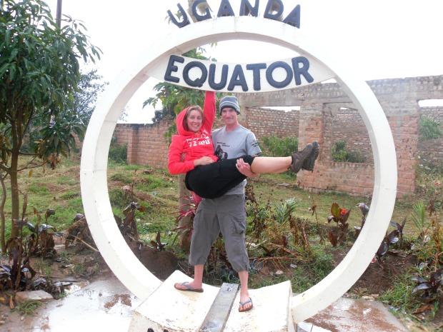 At the Equator in Uganda
