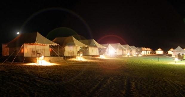 The desert camp in Jaisalmer where we'll be staying over Christmas