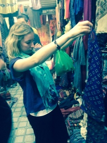 Shopping in Varanasi India