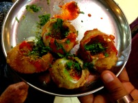 Panipuri Indian food