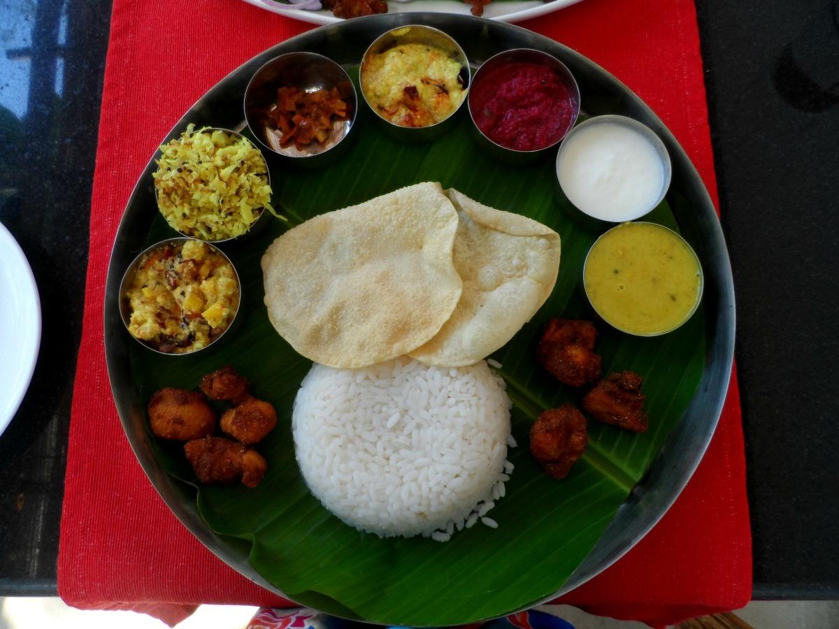 Thali in Kerala India