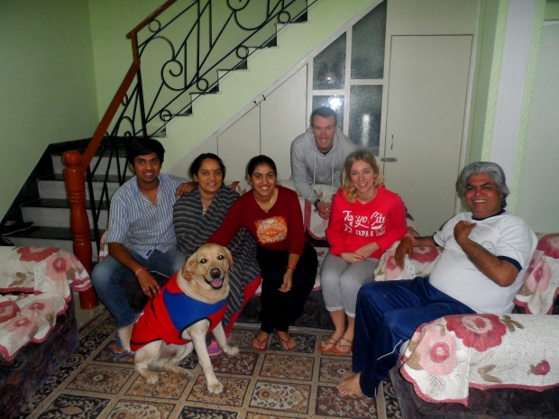 Getting to know Sonia and her friendly family