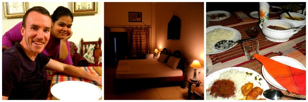 A highlight of our trip was staying at Homestay Varanasi