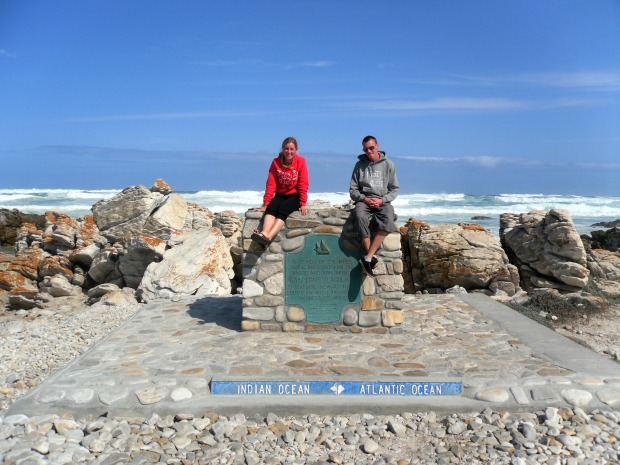 Sitting at the most Southern tip of Africa