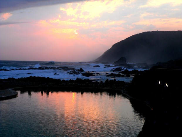 A beautiful sunset at Storms River