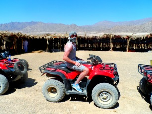 Quad biking in Egypt