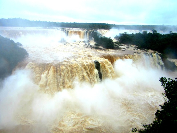 The Brazilian side of the Falls