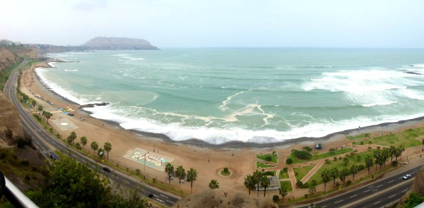 The beaches of Lima