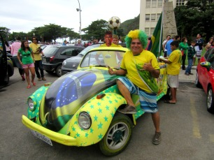 The ultimate Brazil fan!