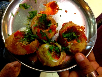 Delicious panipuri