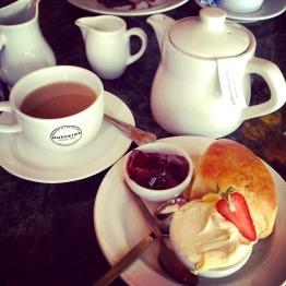 Delicious afternoon tea in Burford
