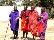 Masai tribe in Tanzania Africa