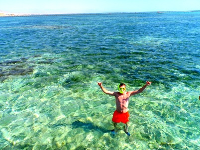 Snorkelling in Egypt
