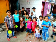 Getting to know the kids in Mumbai