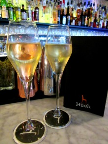 Cocktails at Hush