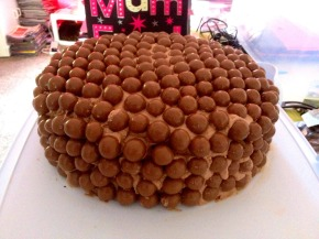 The delicious Malteser cake
