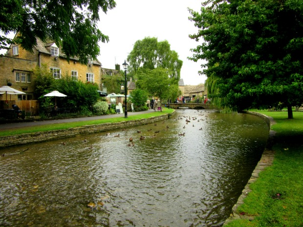 Bourton on the Water is one of the bigger and more touristy villages in the Cotswolds but it's still just as gorgeous and green