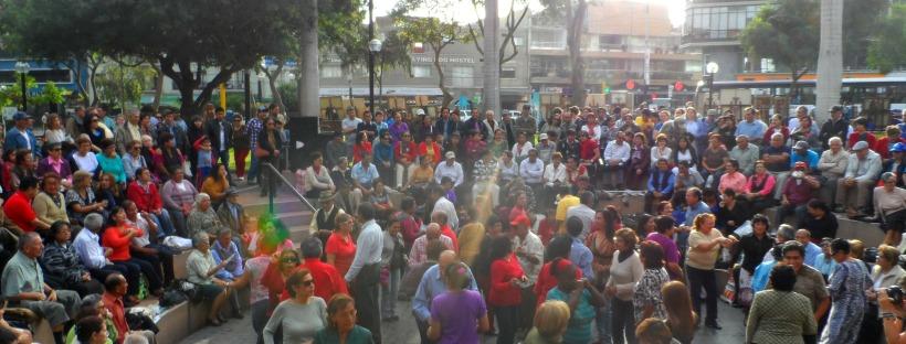 Dancing in Lima Peru