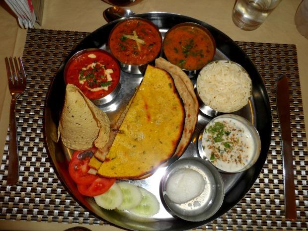 Thali in Jaipur