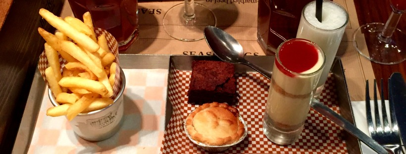 Afternoon tea with a twist at BRGR.CO