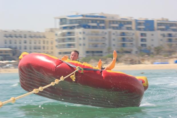 Sofa boat in Tunisia