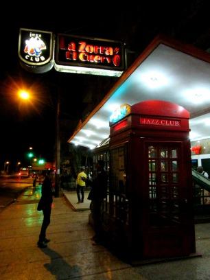 Jazz club in Havana Cuba