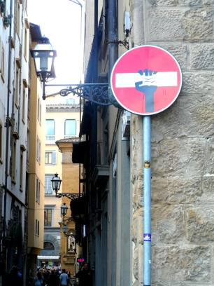Street art in Florence