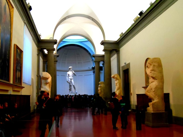 David in the Accademia Florence