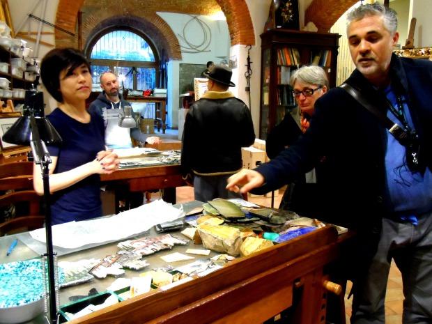 Artist workshop in Florence