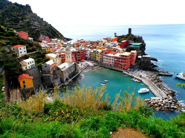 View of Vernazza Cinque Terre