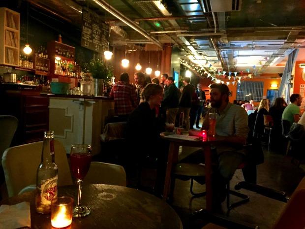 Deptford Job Centre bar