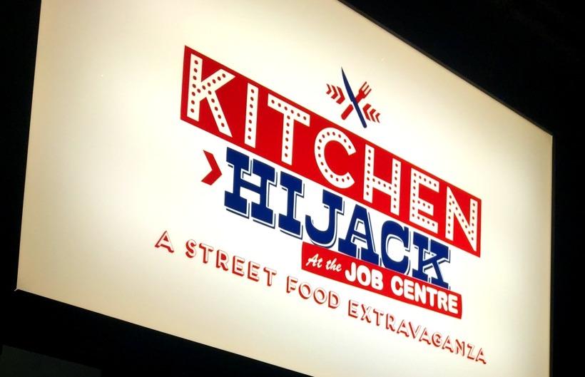 Kitchen Hijack at the Job Centre