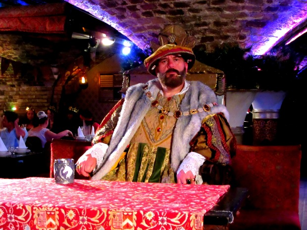 Henry VIII at the Medieval Banquet