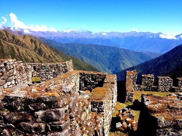 Inca ruins in Peru