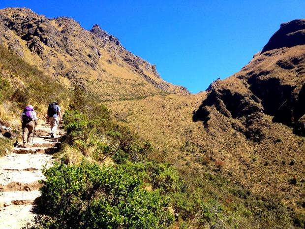 Climbing Dead Woman's Pass
