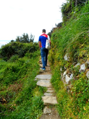 Hiking in the Cinque Terre