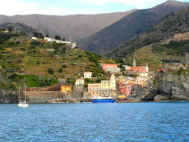 Ferry in Cinque Terre