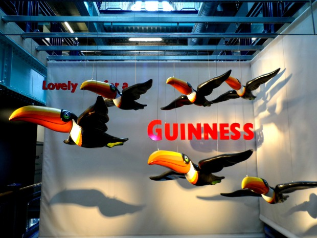 Advertising at the Guinness Storehouse