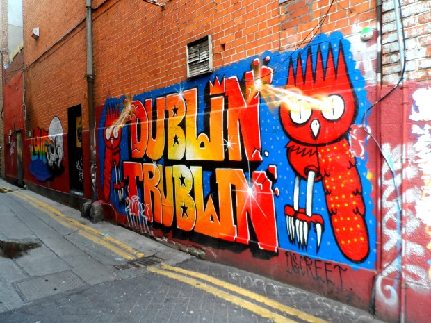 Street art in Dublin