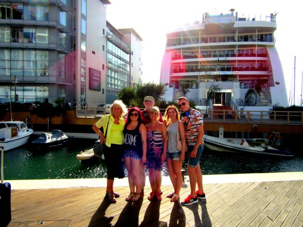 Family in Gibraltar