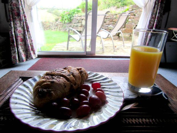 Breakfast in Cornwall
