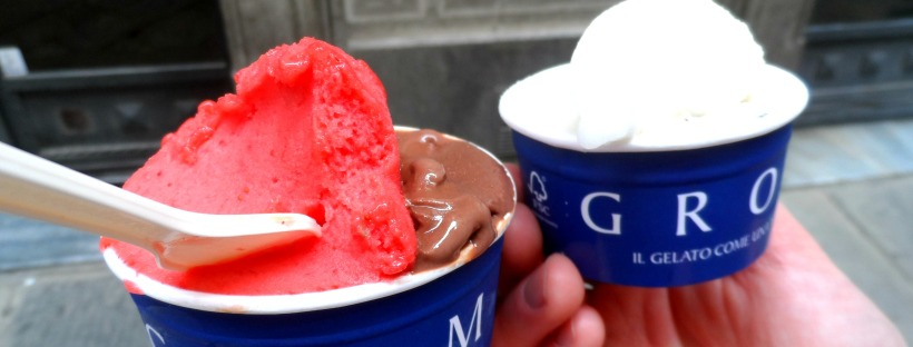 Gelato in Florence Italy