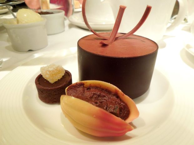 chocolate afternoon tea London