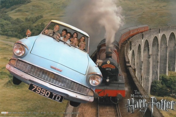 Visiting Harry Potter Studio Tour
