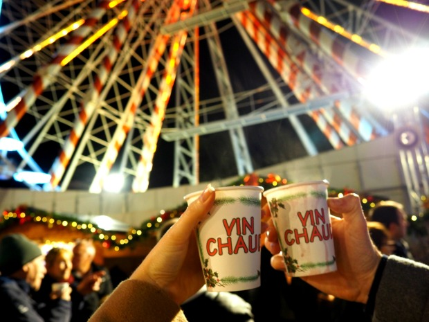 Mulled wine christmas markets